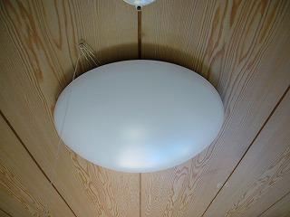 和室に照明を取り付ける