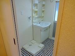 302号室洗面