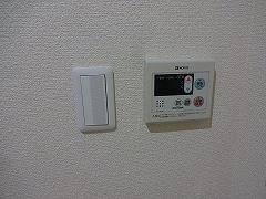 302号室給湯リモコン