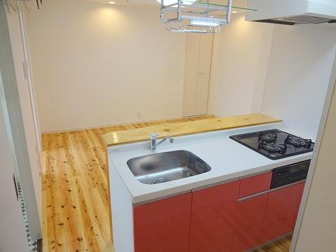 402号室キッチン